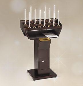 Votivo Arredi Sacri Candeliere Elettrico Gestuale 21 accensioni