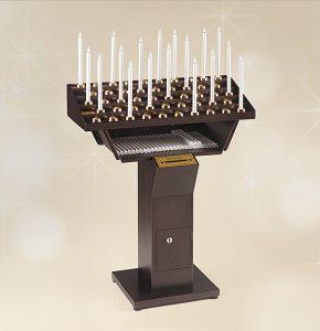 Votivo Arredi Sacri Candeliere Elettrico Gestuale 48 accensioni