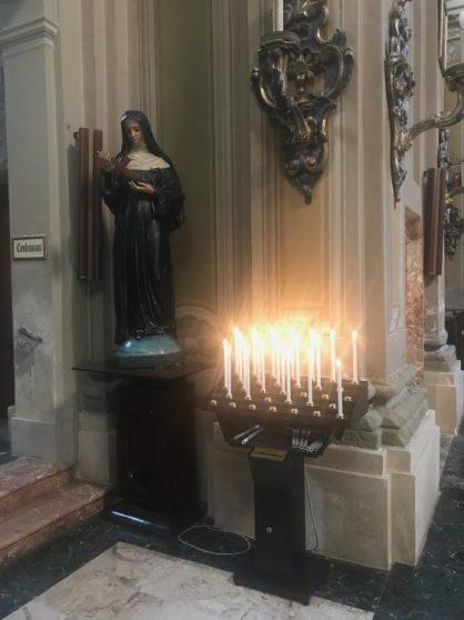votivo arredi sacri candeliere per chiesa a 33 accensioni