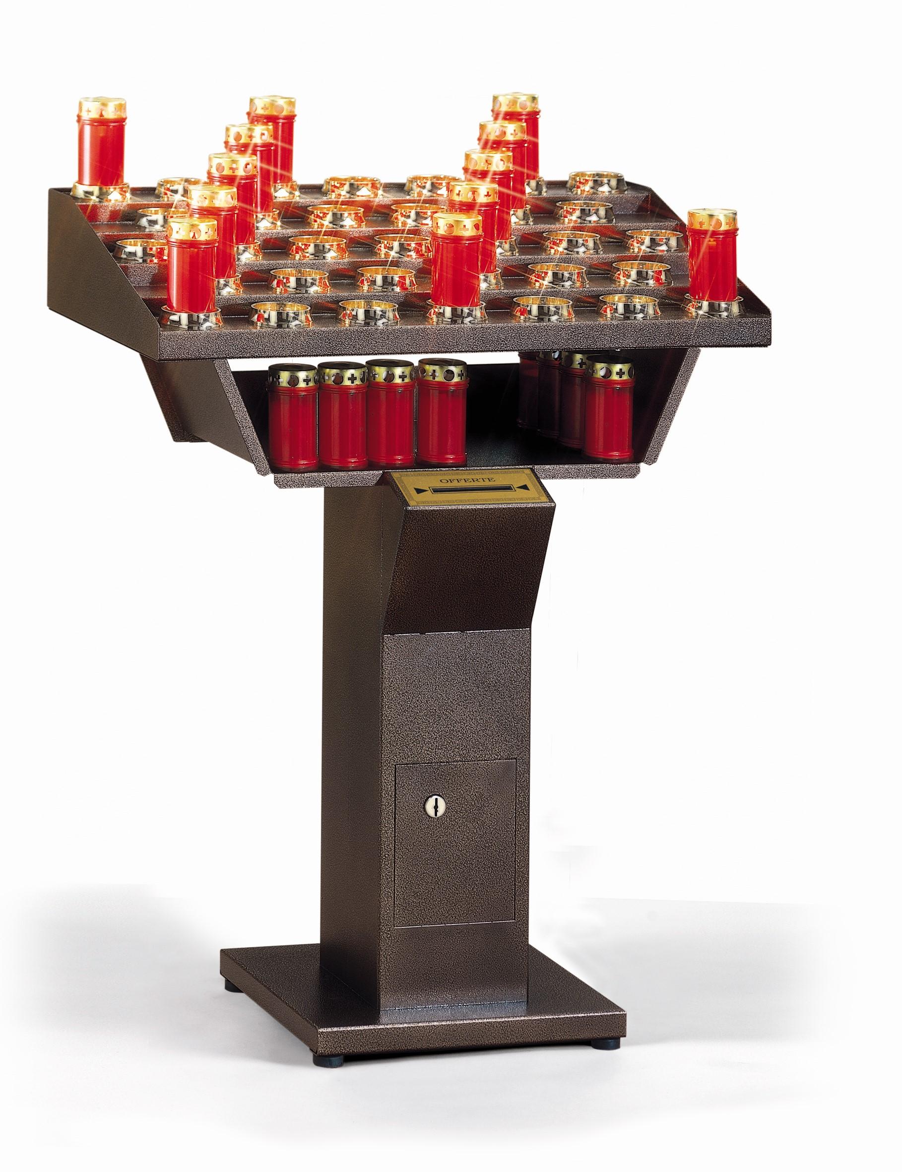 votivo arredi sacri portaceri per chiese elettrico gestuale a 33 accensioni
