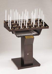 Votivo Arredi Sacri Candeliere Elettrico Gestuale 60 accensioni